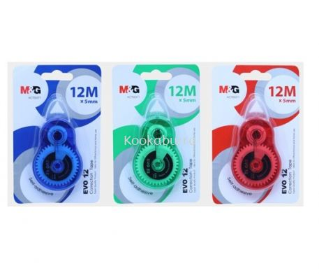 M&G Evo 12 Correction Tape 12M x 5mm