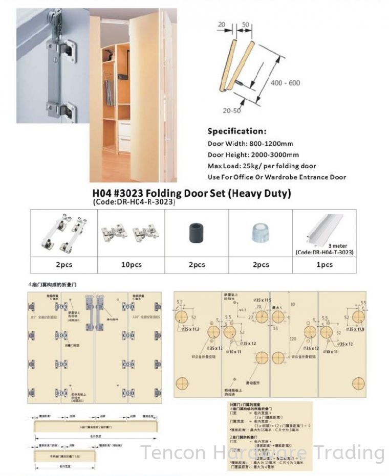 Roller & Accessories Roller & Accessories eTen Furniture Hardware