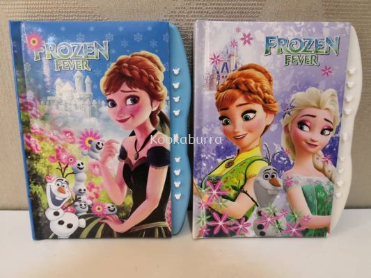 Frozen Diary with Code A5