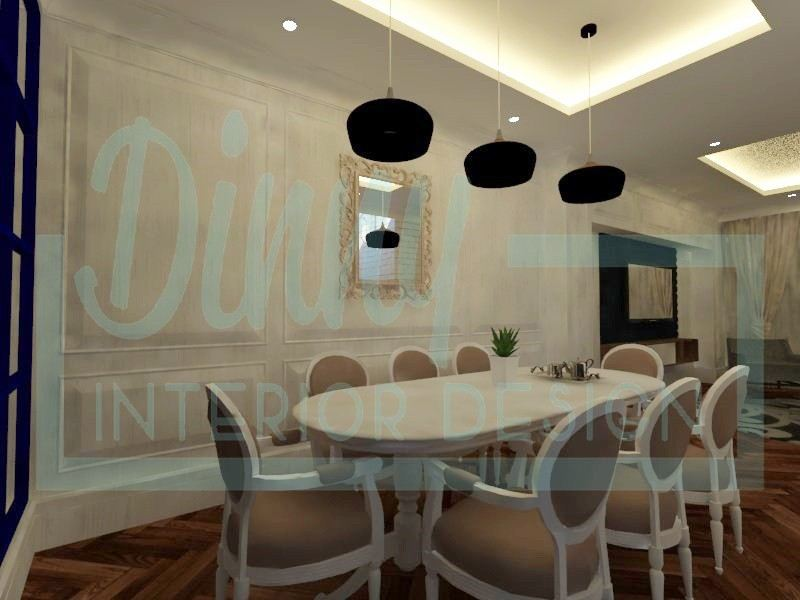 Dining Room Design Selangor, Malaysia, Kuala Lumpur (KL), Shah Alam Contractor, Service | Dinny Interior Design (M) Sdn Bhd
