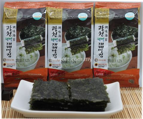 Kwangchun Seasoned Korean Seaweed