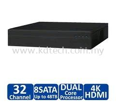 DH-DHI-NVR4832-4KS2 : DAHUA 32CHANNEL 2U 4K & H.265 LITE NETWORK VIDEO RECORDER