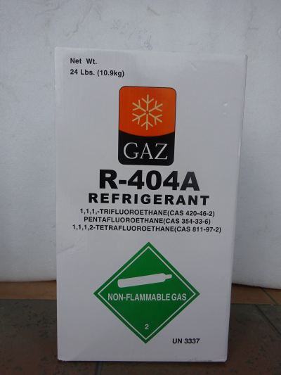 GAZ 404A X 24LBS (10.9KG) HFC REFRIGERANT GAS (PRODUCT OF SINGAPORE)