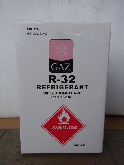 GAZ 32 X 6.6LBS (3KG) HFC REFRIGERANT GAS (PRODUCT OF SINGAPORE)