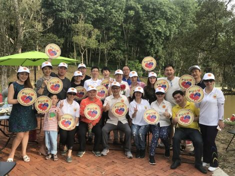 "PUCM会员受邀参观""榴莲忘返""山庄品尝有机榴莲PUCM Members invited to ""YL Durian Manor"" tasting Organic Durian."