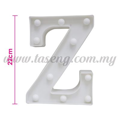 8.5inch Alphabet LED Light - Z (AC-LED8Z)