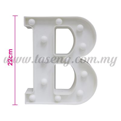 8.5inch Alphabet LED Light - B (AC-LED8B)
