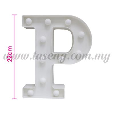 8.5inch Alphabet LED Light - P (AC-LED8P)