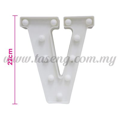 8.5inch Alphabet LED Light - V (AC-LED8V)