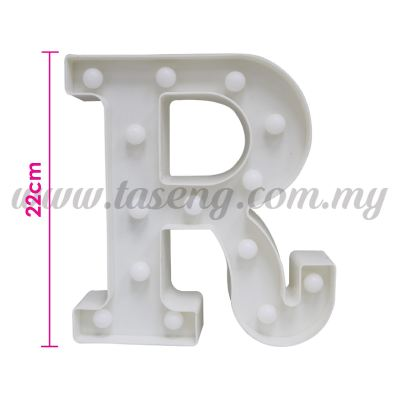 8.5inch Alphabet LED Light - R (AC-LED8R)