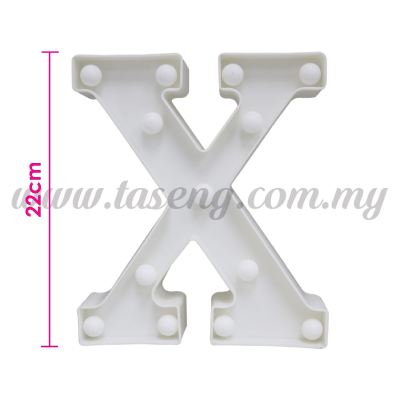 8.5inch Alphabet LED Light - X (AC-LED8X)