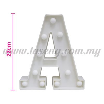 8.5inch Alphabet LED Light - A (AC-LED8A)
