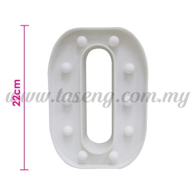 8.5inch Alphabet LED Light - O (AC-LED8O)