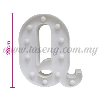 8.5inch Alphabet LED Light - Q (AC-LED8Q)