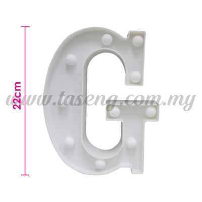 8.5inch Alphabet LED Light - G (AC-LED8G)