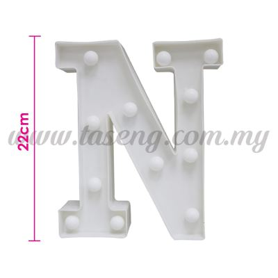 8.5inch Alphabet LED Light - N (AC-LED8N)