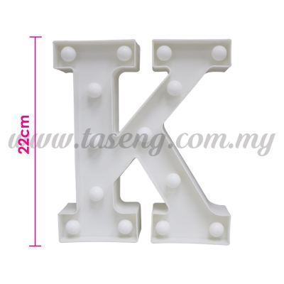 8.5inch Alphabet LED Light - K (AC-LED8K)