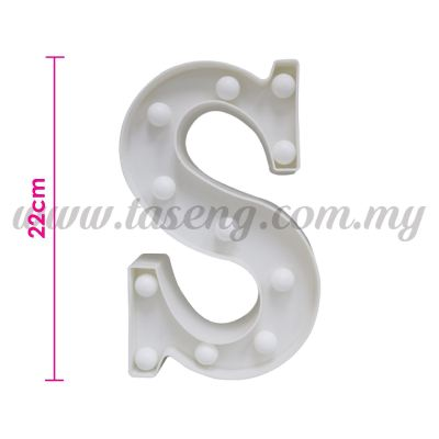 8.5inch Alphabet LED Light - S (AC-LED8S)