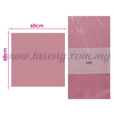 Wrapping Paper Matte - Pink (PD-WP1-P)