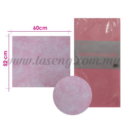 Wrapping Paper Non Woven - Baby Pink (PD-WP3-BP)