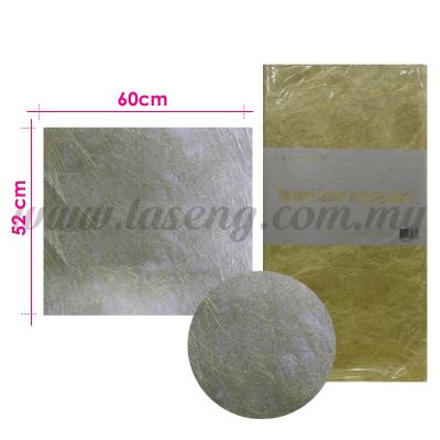 Wrapping Paper Non Woven - Gold (PD-WP3-GO)
