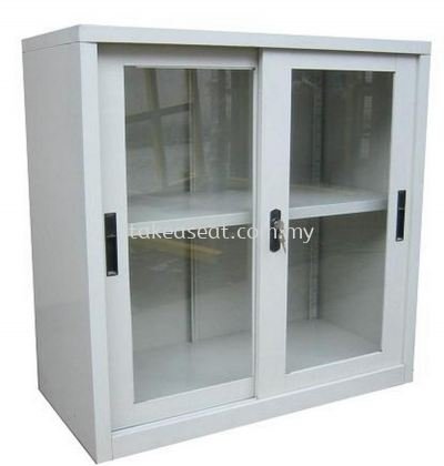 HALF HEIGHT GLASS SLIDING DOOR