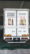 Pet Shop Sdn Bhd 10Ton Truck Lorry UV Sticker - Teluk Intan Klang Delivery Trucks Truck Lorry Sticker
