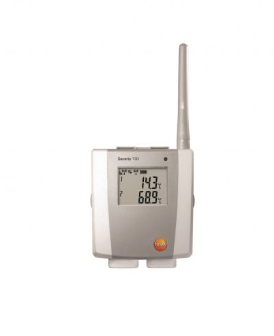 testo Saveris T3 D - 2-Channel Temperature Radio Probe, Including Display