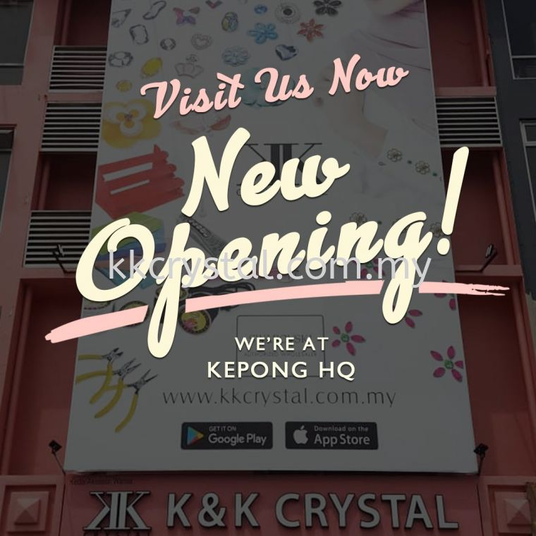 Kepong HQ KK Crystal was now Open for Public ~~~