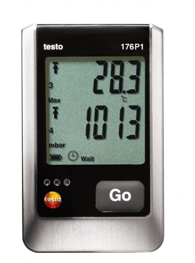 testo 176 P1 - Absolute Pressure, Temperature & Humidity Data Logger