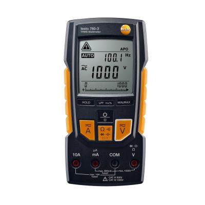 Testo 760-3 - Digital Multimeter, Order-Nr. 0590 7603