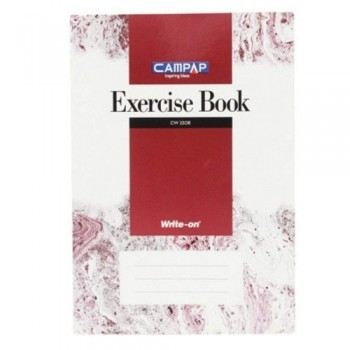 Camel CW2508 A4 Foolscap 160 pages Exercise Book 70 gsm Single Line