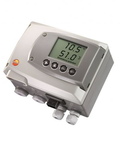 testo 6651 - Temperature / Humidity Transmitter for Critical Climate Applications