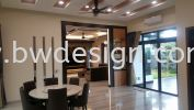 Nusa Duta Bungalow Design Dining Room Design