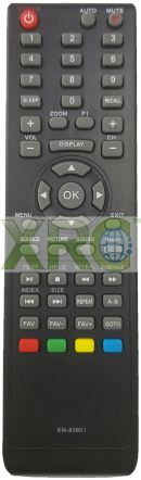 RLE-172A RICSON LCD LED TV REMOTE CONTROL