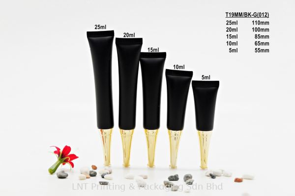 T19MM BLACK SOFT TUBE + GOLD TRUMPET CAP