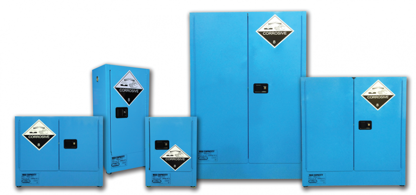 Spill Station Corrosive Substance Storage Cabinet