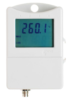 Thermometer for external probe with display