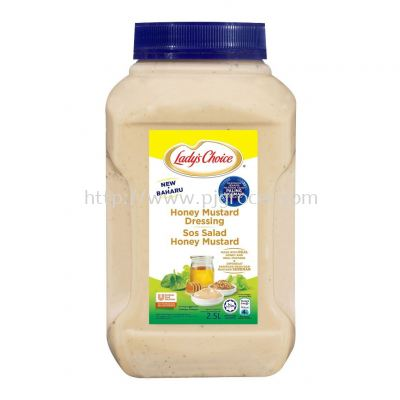 Lady's Choice Honey Mustard Dressing 2.5Litre