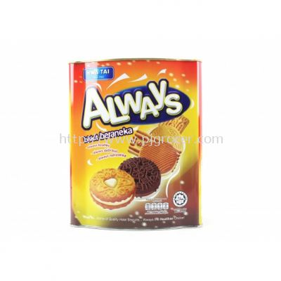 Hwa Tai Always Assorted Biscuit 600gm
