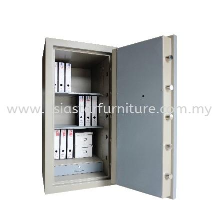 BANKER SAFETY BOX SS-AS65 SIZE FOUR (4) BLUE GREY COLOUR INTERNAL VIEW- safety box pudu   safety box setapak   safety box taman melwati