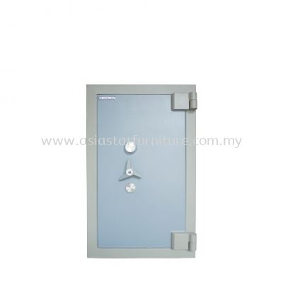 BANKER SAFE SS-AS65 SIZE THREE (3) BLUE GREY COLOUR