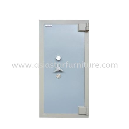 BANKER SAFETY BOX SS-AS65 SIZE FOUR (4) BLUE GREY COLOUR-safety box mont kiara   safety box solaris dutamas   safety box jalan ipoh