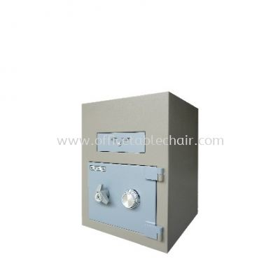 TRAPMASTER NIGHT SAFE AS1680 BLUE GREY COLOR SIDE VIEW