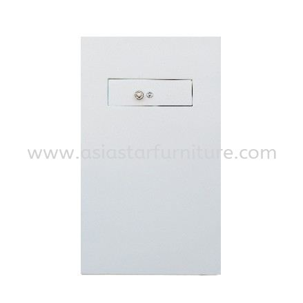 NIGHT SAFETY BOX AS2250 BACK VIEW SAND BEIGE COLOR-safety box bukit jalil   safety box sentul   safety box brickfield