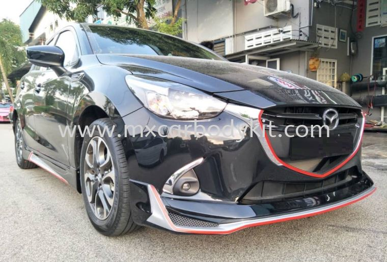 MAZDA 2 HATCHBACK 2015 CUSTOMIZED DRIVE 68 BODYKIT 2 HATCHBACK 2015 MAZDA