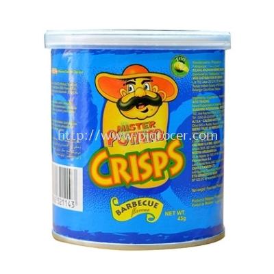 Mister Potato Crisps BBQ 45gm