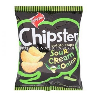Twisties Chipster Sour Cream & Onion 60gm