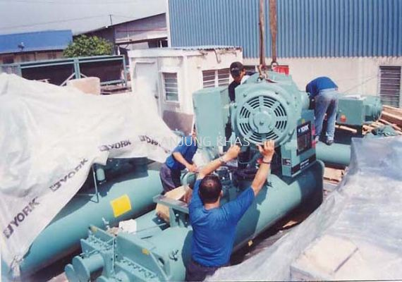 Dismantling The Compressor