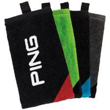 Ping Tri-Fold Towel - White/Black